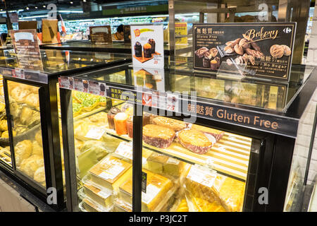 French,international,chain,supermarket,store,shop,Carrefour,in,Tianmu,branch,Tapei City,Taipei,Taiwan,Republic of China,ROC,China,Chinese,Asia,Asian, - Stock Photo