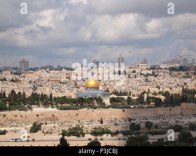 Dome of the Rock, Jerusalem - Stock Photo