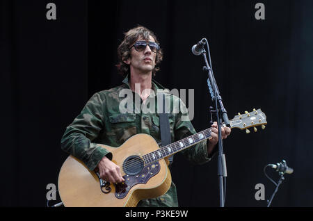 Richard Ashcroft The Verve Performing Live - Stock Photo