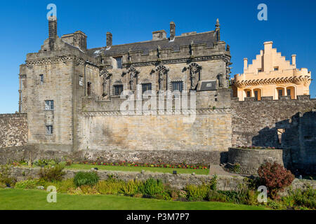 Birthplace of Mary Queen of Scots, Stirling Castle, Stirling, England. UK - Stock Photo