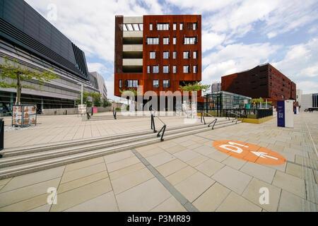 Vienna University of Economics and Business, Vienna, Austria - Stock Photo