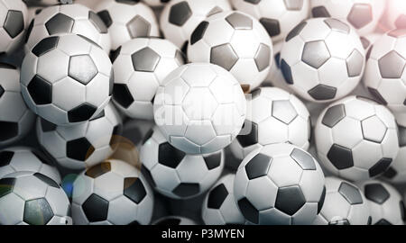 3d Rendering Empty Soccer Field With Stadium At Night Stock Photo