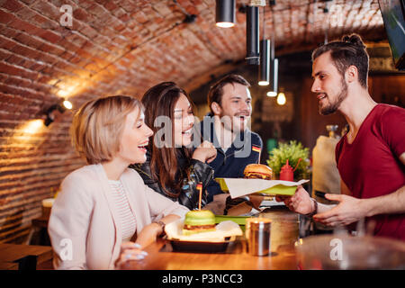Youth, People, Leisure and Party concept - Stock Photo