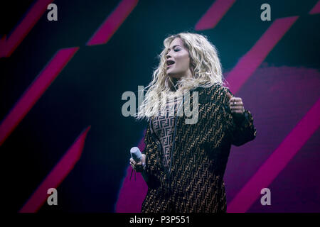 Rita Ora Girls Tour at Brixton Academy  Featuring: Rita Ora Where: London, United Kingdom When: 18 May 2018 Credit: Neil Lupin/WENN - Stock Photo