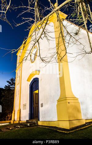 FLORIANÓPOLIS, SC - 27.06.2015: ARQUITETURA COLONIAL - Igreja Nossa Senhora da Imaculada Conceição, na Lagoa da Conceição, construída em 1751. (Foto: Ricardo Ribas / Fotoarena) - Stock Photo