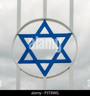 Judaism's Star of David - Stock Photo