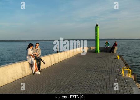 Poland, Pomerania - Krynica Morska on the Fresh Spit (Baltic Sea) - Stock Photo