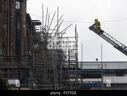 Fire investigators have promised they will find out what caused the blaze which gutted the Glasgow School of Art.  Assistant Chief Officer David McGow - Stock Photo