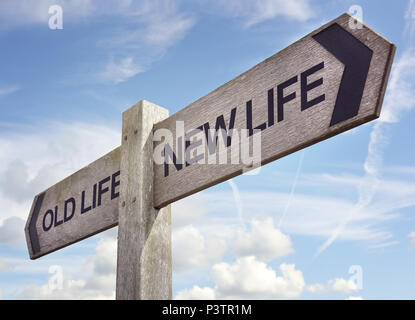 New life concept for fresh start, new year resolution, dieting and healthy lifestyle - Stock Photo