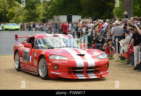 Wilton Classic and Supercar weekend , held at Wilton House, Nr Salisbury 07/06/2015 - Stock Photo