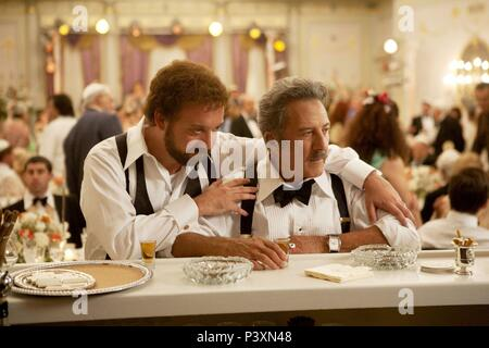 Original Film Title: BARNEY'S VERSION.  English Title: BARNEY'S VERSION.  Film Director: RICHARD J. LEWIS.  Year: 2010.  Stars: DUSTIN HOFFMAN; PAUL GIAMATTI. Credit: SERENDIPITY POINT FILMS / Album - Stock Photo