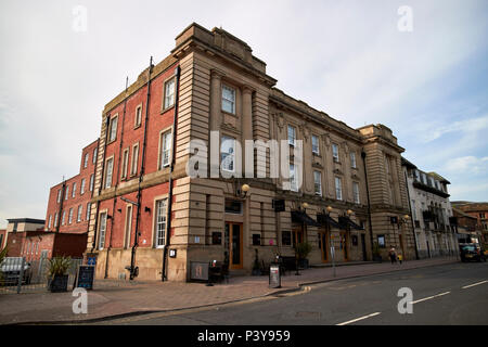 The halston aparthotel hotel in the former general post office building Carlisle Cumbria England UK - Stock Photo