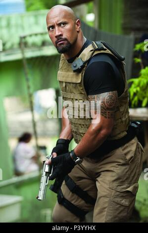 Original Film Title: FAST FIVE.  English Title: FAST FIVE.  Film Director: JUSTIN LIN.  Year: 2011.  Stars: THE ROCK. Credit: ORIGINAL FILM / Album - Stock Photo