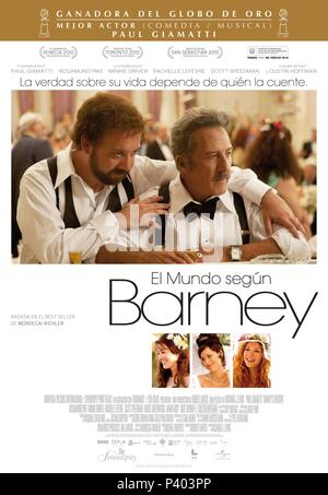 Original Film Title: BARNEY'S VERSION.  English Title: BARNEY'S VERSION.  Film Director: RICHARD J. LEWIS.  Year: 2010. Credit: SERENDIPITY POINT FILMS / Album - Stock Photo