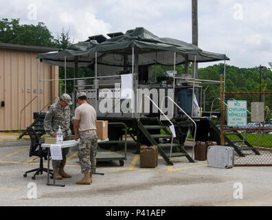 Culinary specialists assigned to the 200th Military Police Command ...