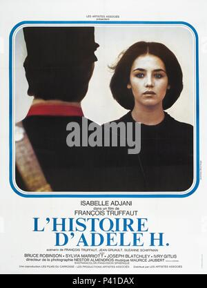Original Film Title: L' HISTOIRE D'ADELE H..  English Title: STORY OF ADELE H, THE.  Film Director: FRANCOIS TRUFFAUT.  Year: 1975. Credit: LES FILMS DU CARROSSE/LES PRODUCTIONS ARTISTES ASSOCIES / Album - Stock Photo