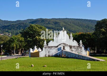 Goiás - GO Chafariz de Cauda da Boa Morte Patrimônio Histórico Cidade Histórica Goiás Goias Velho Centro Oeste Brasil - Stock Photo