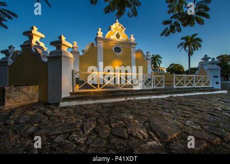 Goiás Velho - GO Chafariz Chafariz de Cauda da Boa Morte Córrego Chapéu de Pedra monumento histórico Unesco IPHAN Goiás Velho Goiás Centro Oeste Brasil - Stock Photo