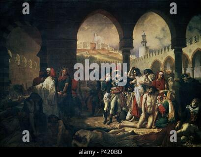Painting Of Napoleon Bonaparte Visiting The Plague ...
