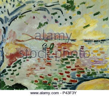 34f8f1ad75 Georges Braque Landscape at La Ciotat Stock Photo  164130706 - Alamy