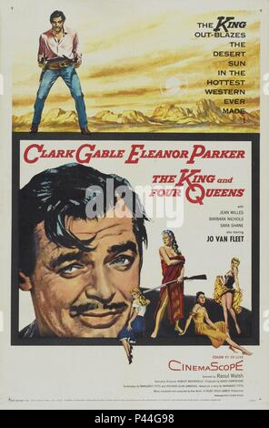 Original Film Title: THE KING AND FOUR QUEENS.  English Title: THE KING AND FOUR QUEENS.  Film Director: RAOUL WALSH.  Year: 1956. Credit: UNITED ARTISTS / Album - Stock Photo