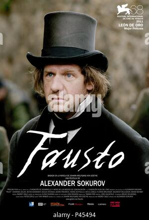 Original Film Title: FAUST.  English Title: FAUST.  Film Director: ALEKSANDR SOKUROV.  Year: 2011. Credit: PROLINE FILM / Album - Stock Photo