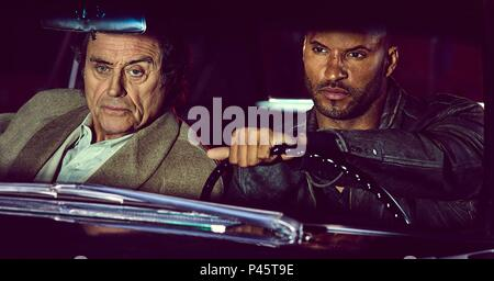 Original Film Title: AMERICAN GODS.  English Title: AMERICAN GODS.  Film Director: BRYAN FULLER.  Year: 2017.  Stars: IAN MCSHANE; RICKY WHITTLE. Credit: STARZ / Album - Stock Photo