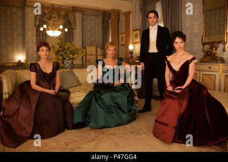 Original Film Title: BEL AMI.  English Title: BEL AMI.  Film Director: DECLAN DONNELLAN; NICK ORMEROD.  Year: 2011.  Stars: CHRISTINA RICCI; UMA THURMAN; KRISTIN SCOTT THOMAS; ROBERT PATTINSON. Credit: REDWAVE FILMS / Album - Stock Photo
