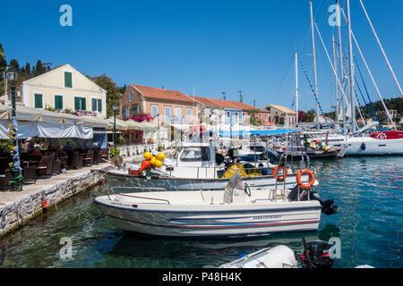 Fiskardo, Kefalonia, Greece - Stock Photo