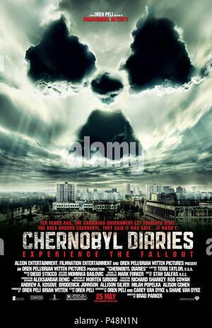 Original Film Title: CHERNOBYL DIARIES.  English Title: CHERNOBYL DIARIES.  Film Director: BRADLEY PARKER.  Year: 2012. Credit: ALCON ENTERTAIMENT / Album - Stock Photo