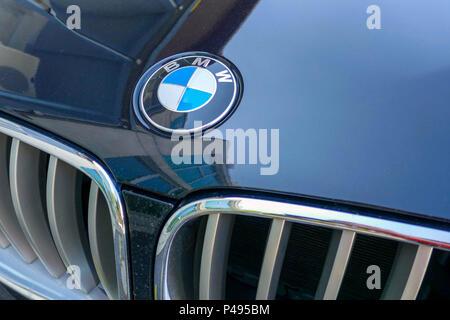 Company Logo Of The German Automotive Corporation Volkswagen Ag Based Stock Photo 52308379 Alamy