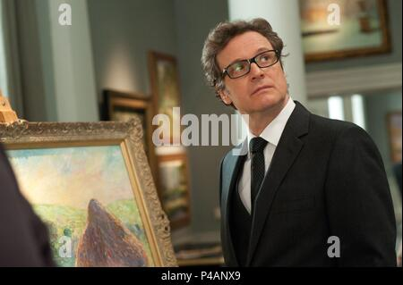 Original Film Title: GAMBIT.  English Title: GAMBIT.  Film Director: MICHAEL HOFFMAN.  Year: 2012.  Stars: COLIN FIRTH. Credit: CRIME SCENE PICTURES / Album - Stock Photo