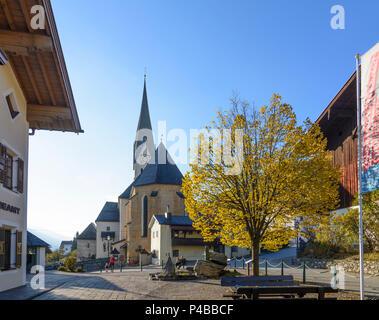 Stuhlfelden, church, Pinzgau, Salzburg, Austria - Stock Photo