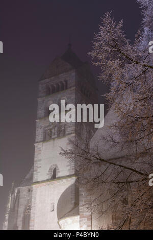 Breisach am Rhein, Münster (church, cathedral), Kaiserstuhl, Baden-Wuerttemberg, Germany - Stock Photo