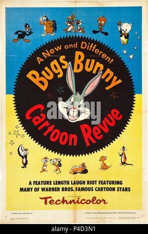 Description: Bugs Bunny Cartoon Revue, 1953.  Original Film Title: MISC: BUGS BUNNY.  English Title: MISC: BUGS BUNNY.  Year: 1953. Credit: WARNER BROS. / Album - Stock Photo