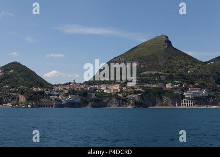 vietri sul mare, costiera amalfitana, italy - Stock Photo