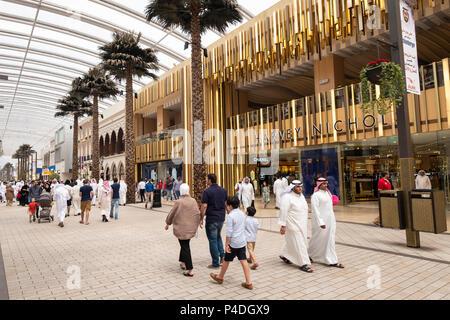 Harvey Nichols store at The Avenues shopping mall in Kuwait City, Kuwait. - Stock Photo