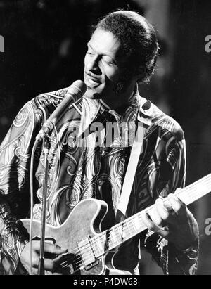 chuck berry, 1973 - Stock Photo