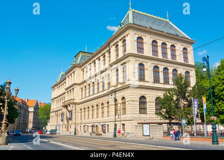 UPM, Museum of Decorative Arts, Josefov, Prague, Czech Republic - Stock Photo