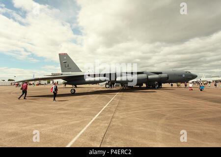 Boeing B-52 Stratofortress - Stock Photo