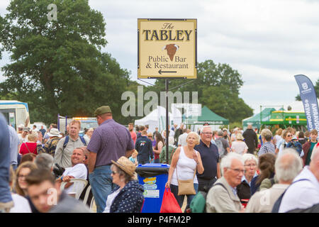 19 & 20th June 2018 - The Cheshire Showground at Clay House Farm Flittogate Lane, Knutsford hosted the 2018 Royal Cheshire County Show. The Show is ab - Stock Photo