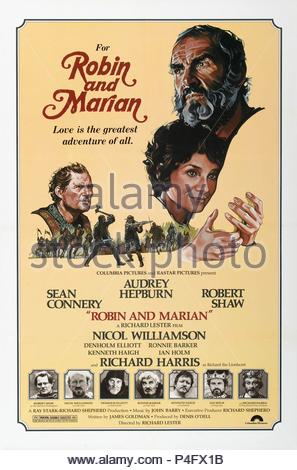 Original Film Title: ROBIN AND MARIAN.  English Title: ROBIN AND MARIAN.  Film Director: RICHARD LESTER.  Year: 1976. Credit: COLUMBIA PICTURES / Album - Stock Photo
