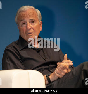 Cannes, France, 22 June 2018, Ken Auletta, Writer, Author - The New Yorker, attend the Cannes Lions Festival - International Festival of Creativity © ifnm / Alamy Live News - Stock Photo