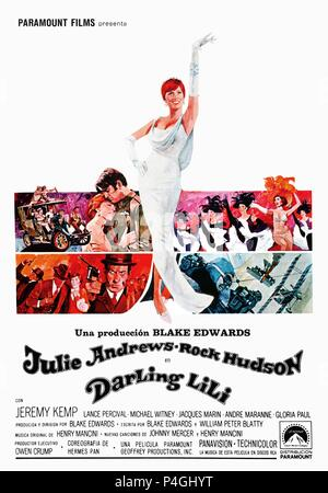 Original Film Title: DARLING LILI.  English Title: DARLING LILI.  Film Director: BLAKE EDWARDS.  Year: 1970. Credit: PARAMOUNT PICTURES / Album - Stock Photo