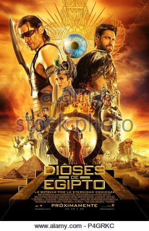 Original Film Title: GODS OF EGYPT.  English Title: GODS OF EGYPT.  Film Director: ALEX PROYAS.  Year: 2016. Credit: CONCORDE CLOCK CINEMA/SUMMIT ENT/THUNDER ROAD PICTURES / Album - Stock Photo