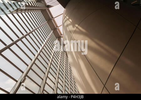 Beautiful Architecture of the Darwin Centre at the Natural History museum. - Stock Photo