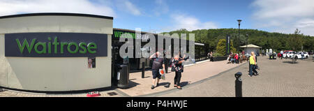 Welcome Break, Michaelwood Services - GL11 6DD. - Stock Photo