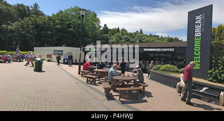 Welcome Break, Michaelwood Services - GL11 6DD - Stock Photo