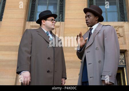 Original Film Title: MARSHALL.  English Title: MARSHALL.  Film Director: REGINALD HUDLIN.  Year: 2017.  Stars: JOSH GAD; CHADWICK BOSEMAN. Credit: Chestnut Ridge Productions / Album - Stock Photo