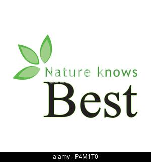 Nature knows best - Stock Photo
